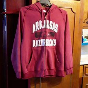 NCAA Arkansas Razorback hoodie